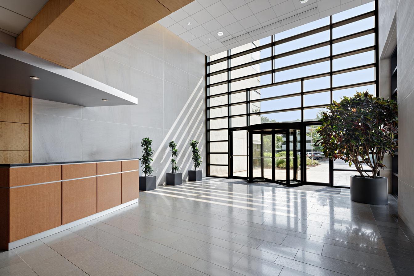 101 JFK parkway interior entrance